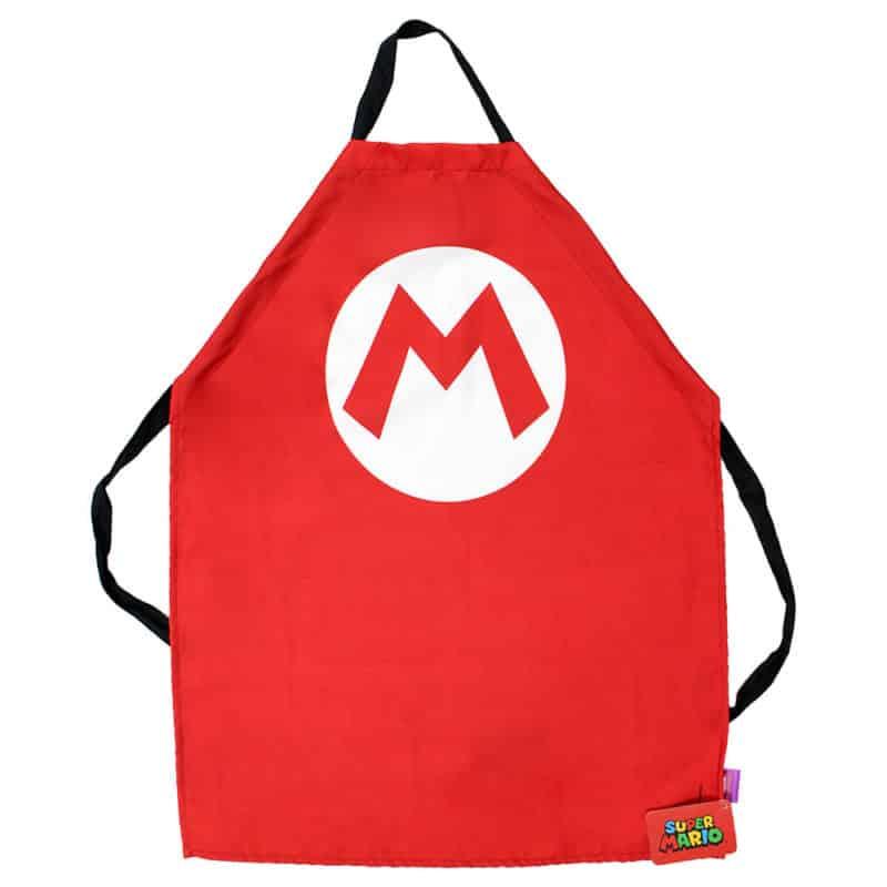 Avental Criativo Cozinha Super Mario