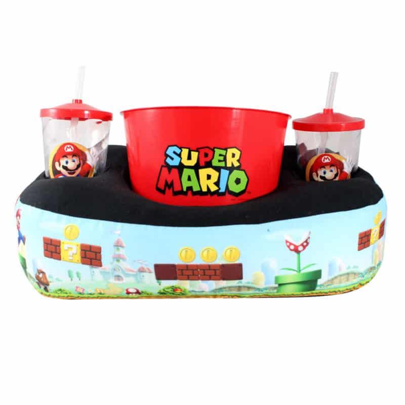 Kit Porta Pipoca - Super Mario