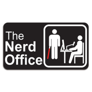 Placa Decorativa The Nerd Office