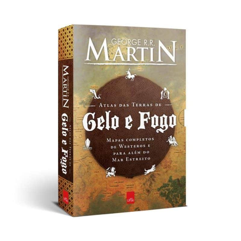 Livro Atlas Das Terras De Gelo E Fogo - George R.R. Martin