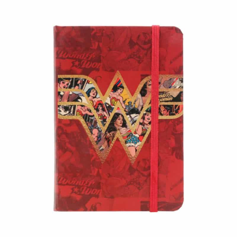 Caderneta Mulher Maravilha
