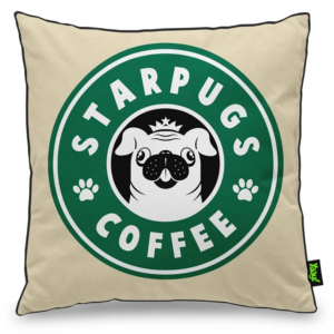 Almofada Starpugs Coffee