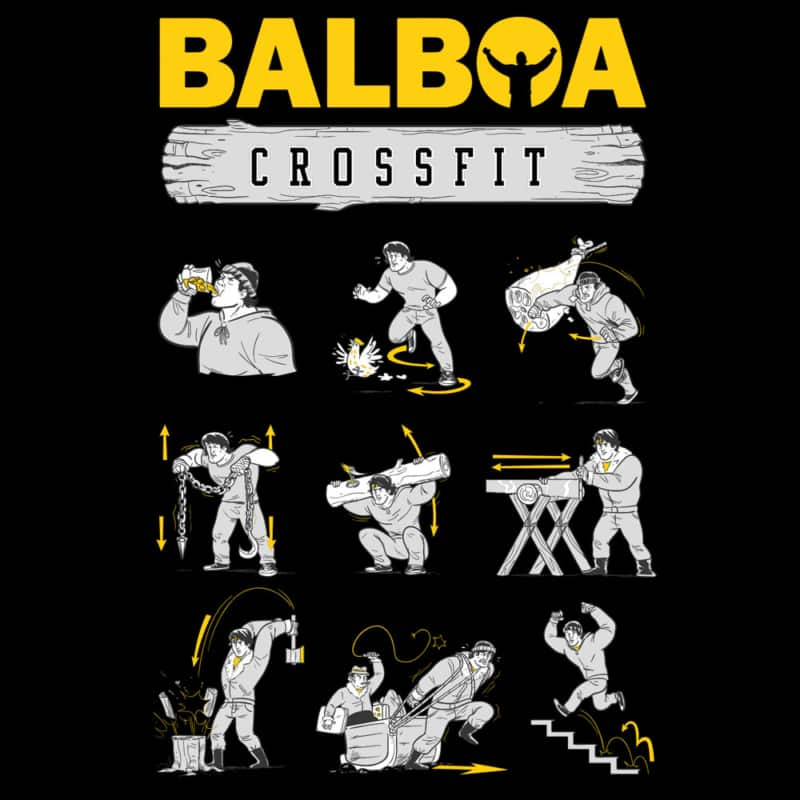Camiseta Balboa Crossfit