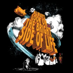 Camiseta The Bright Side of Life