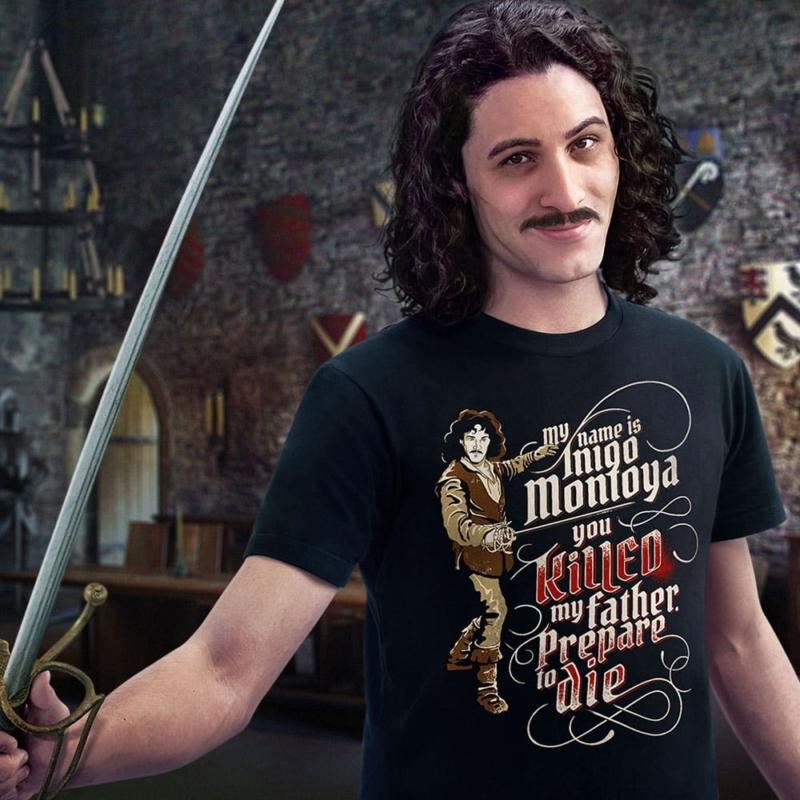 A camiseta para nunca esquecer de uma vingança