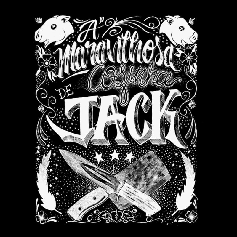 Camiseta A Maravilhosa Cozinha de Jack - Preta