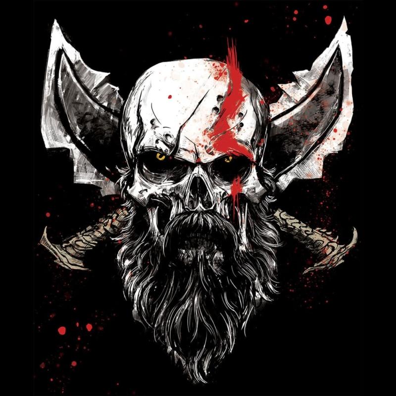 Camiseta Spartan Skull