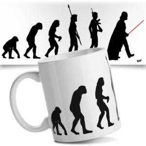 Caneca Criativa Geek Evolution