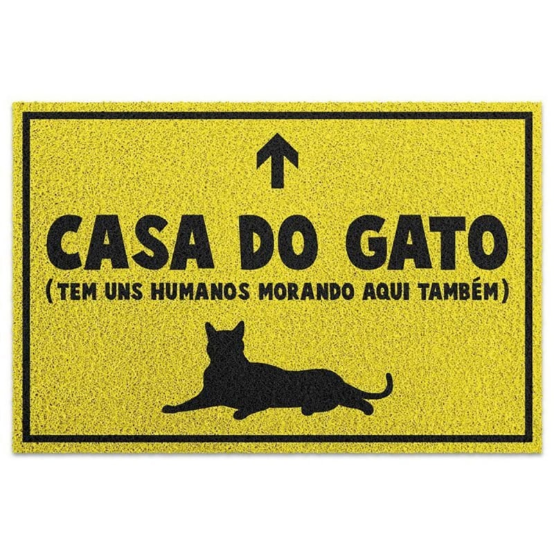 Capacho Casa do Gato