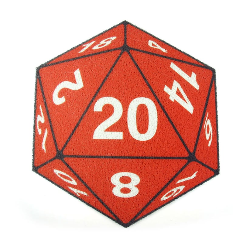 Capacho Dado RPG D20 Exclusivo