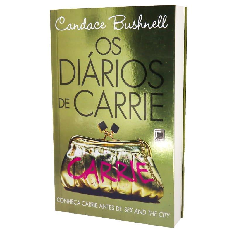 Livro Os Diários de Carrie - Candace Bushnell