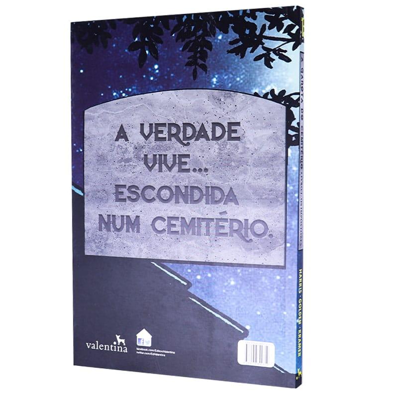 Livro A Garota do Cemitério - Charlaine Harris; Christopher Golden; Don Kramer