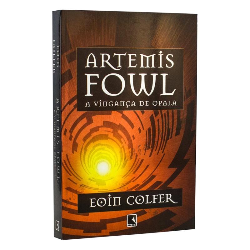Livro Artemis Fowl - A Vingança de Opala - Volume 4 - Eoin Colfer - Record
