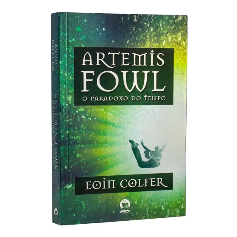 Lviro Artemis Fowl - O Paradoxo do Tempo - Volume 6 - Eoin Colfer - Record
