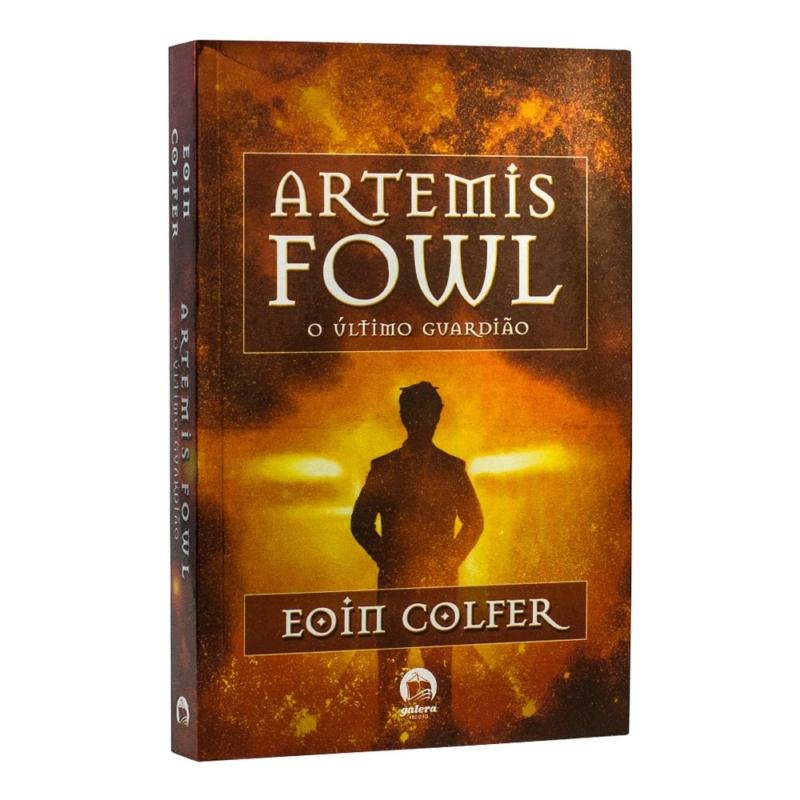 Lviro Artemis Fowl - O Último Guardião - Volume 8 - Eoin Colfer - Record