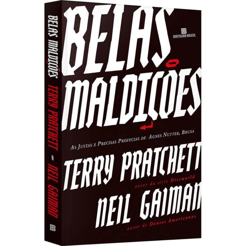 Livro Belas Maldições - Neil Gaiman; Terry Pratchett