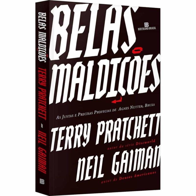 Livro Belas Maldições - Neil Gaiman, Terry Pratchett - Record