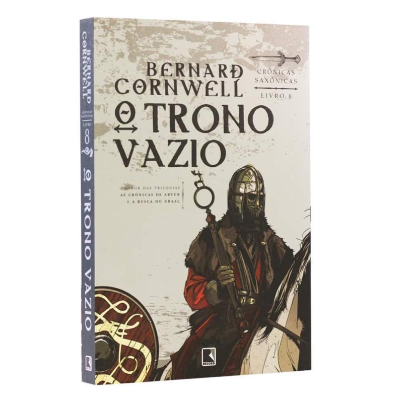 Livro O Trono Vazio - Crônicas Saxônicas Vol. 8 - Bernard Cornwell - Record
