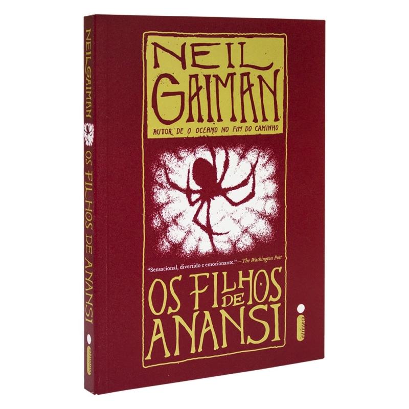 Livro Os Filhos de Anansi - Neil Gaiman - Intrínseca