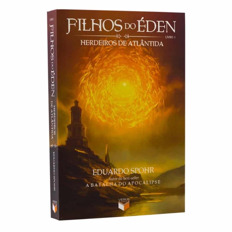 Livro Filhos do Éden: Herdeiros de Atlântida - Vol. 1 - Eduardo Spohr - Verus