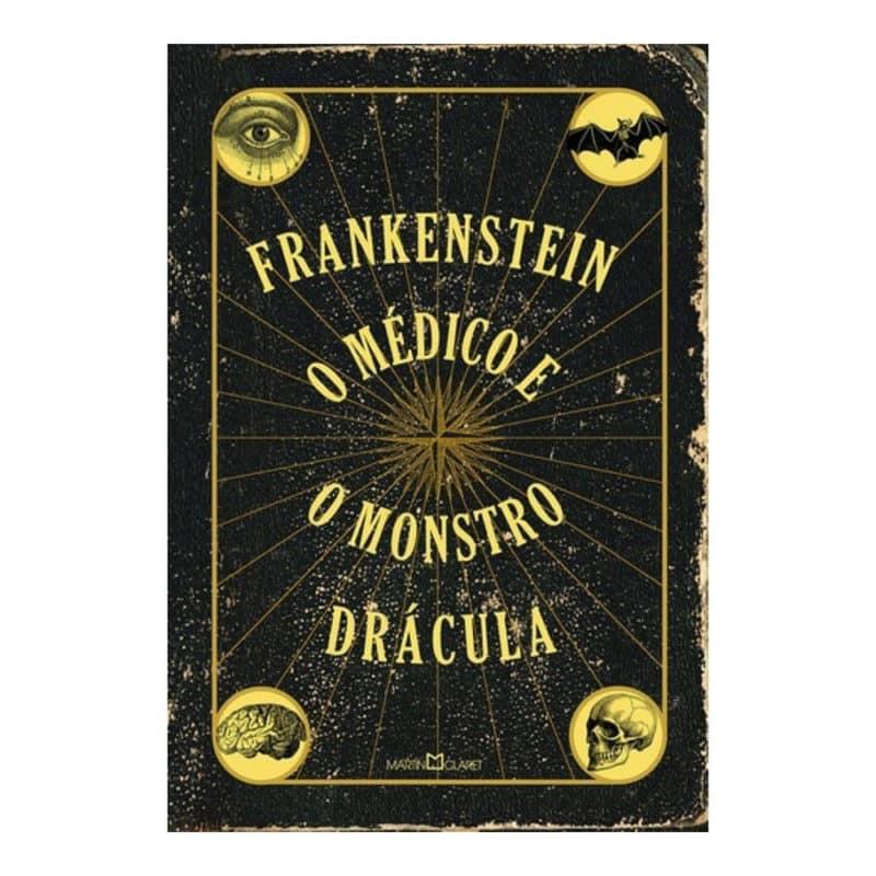 Livro Frankenstein - o Médico e o Monstro - Drácula