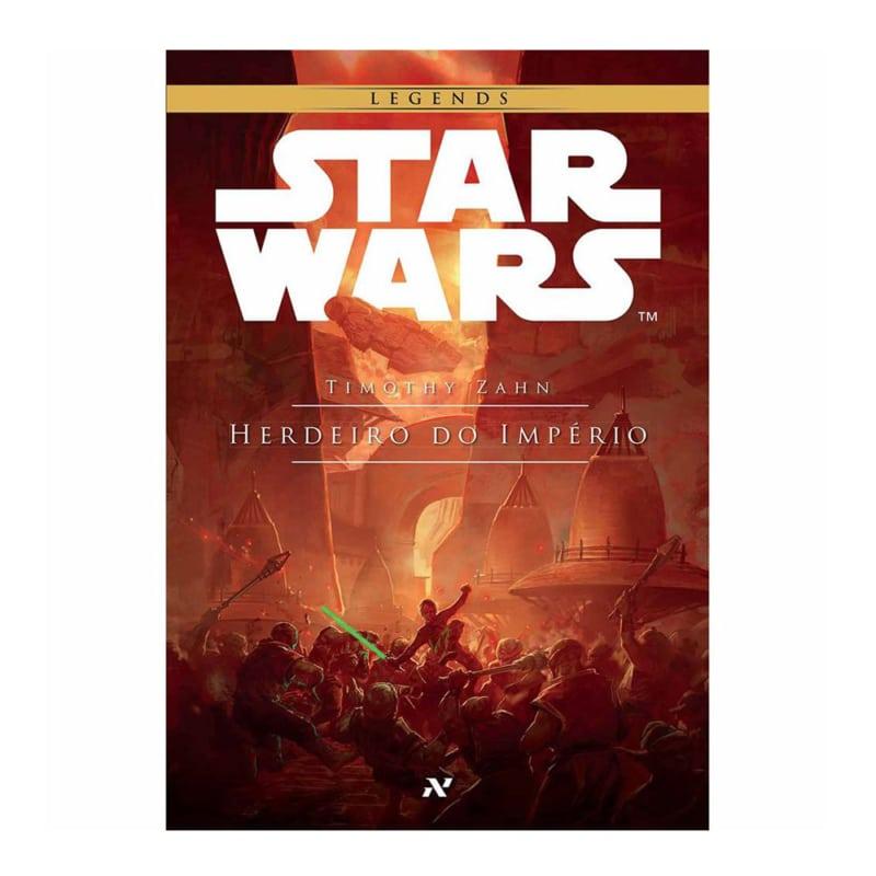 Livro Star Wars: Herdeiro do Império - Trilogia Thrawn Livro I - Timothy Zahn - Aleph