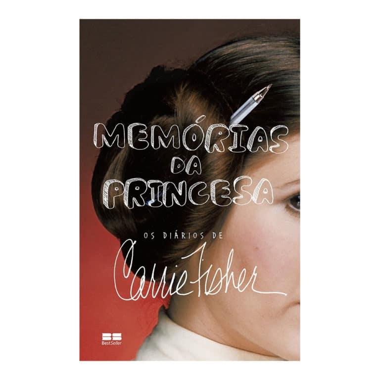 Livro Memórias da Princesa - Diários de Carrie Fisher