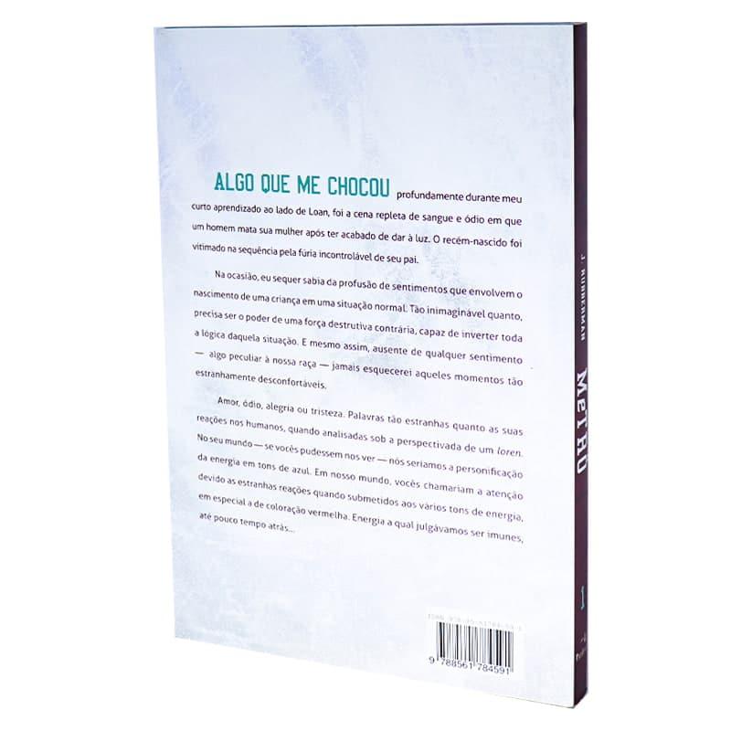 Livro Metrô: Lorens & Humanos - Volume 1 - J. Rubberman