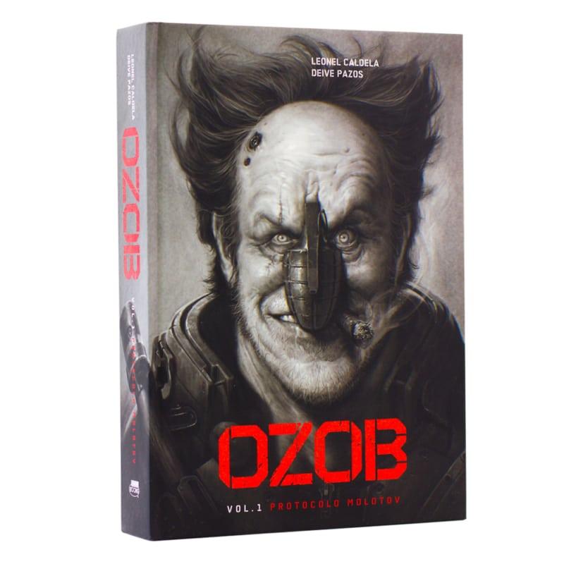 Livro Ozob Vol. 1 - Protocolo Molotov - Leonel Caldela; Deive Pazos - Nerdbooks