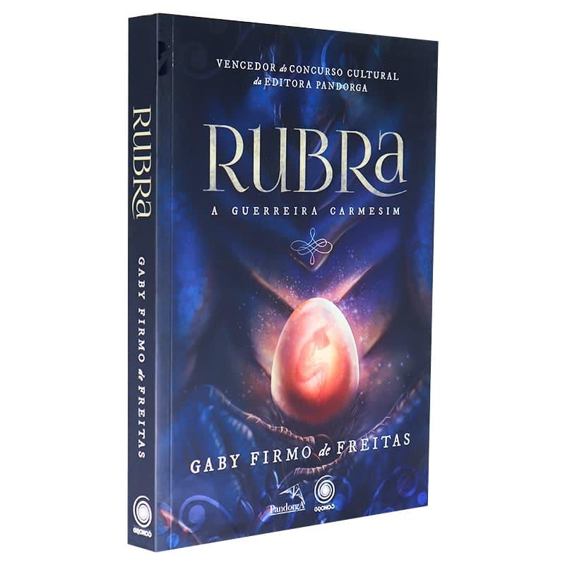 Livro Rubra: A Guerreira Carmesim - Gaby Firmo de Freitas