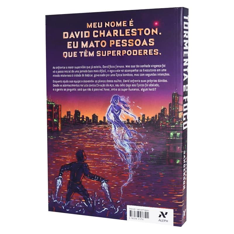 Livro Tormenta de Fogo - Brandon Sanderson