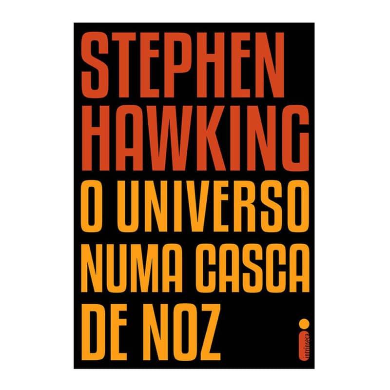 Livro O Universo Numa Casca de Noz - Stephen Hawking - Intrínseca
