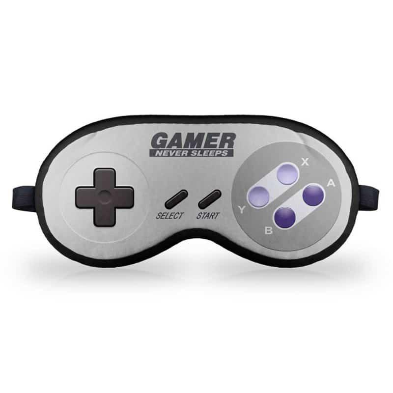 Máscara de Dormir Gamer Joystick 16-Bits