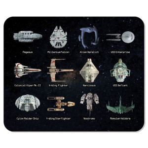 Mouse Pad Naves SCI-FI