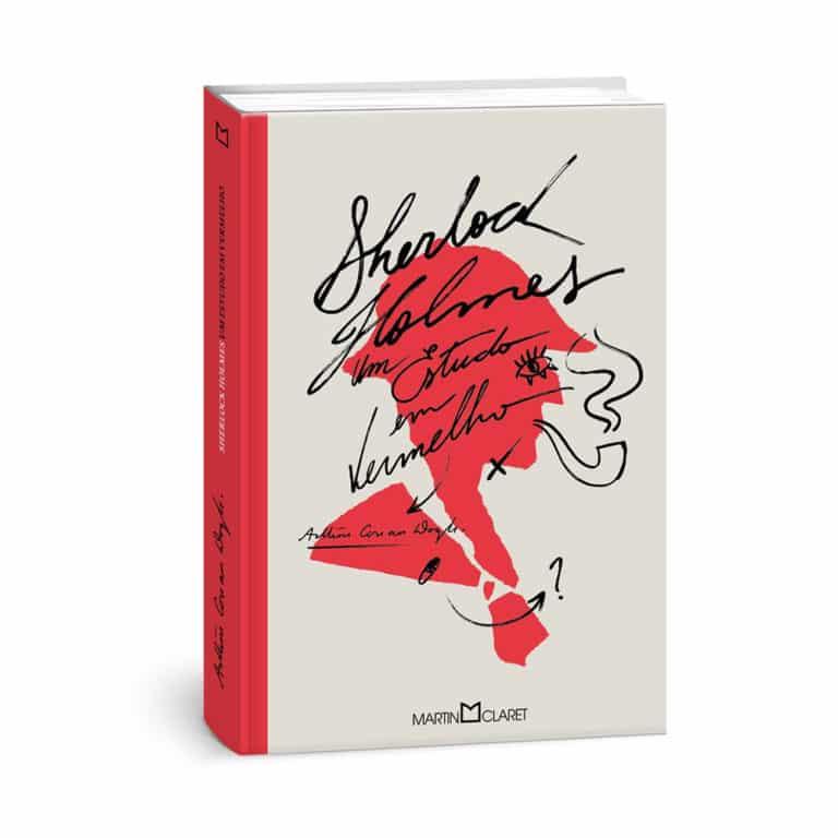 Livro Sherlock Holmes: Um Estudo Em Vermelho - Arthur Conan Doyle