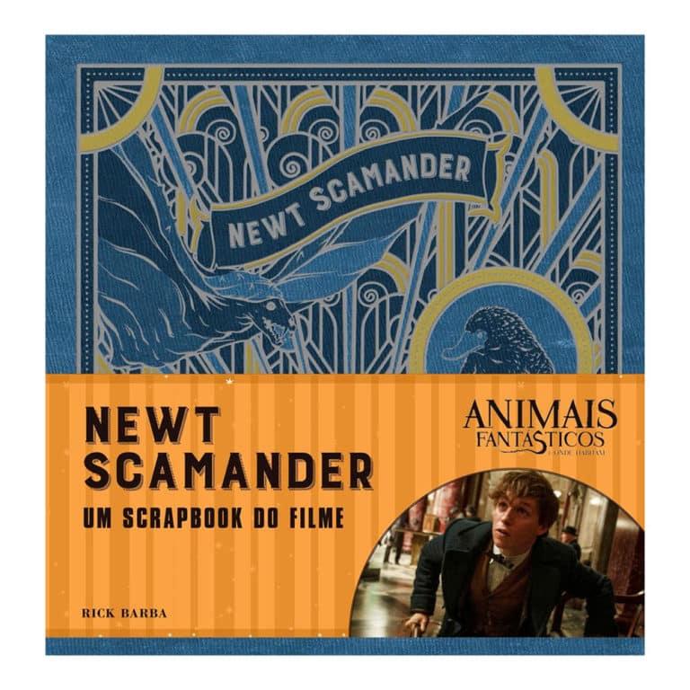 Animais Fantásticos e onde habitam: Newt Scamander - O Scrapbook do Filme - Rick Barba