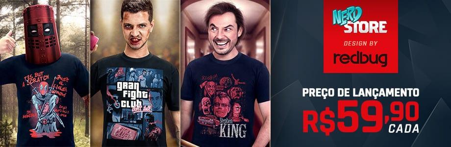 Camisetas Geek em Estampas Exclusivas na Nerdstore a0d7721c64df5