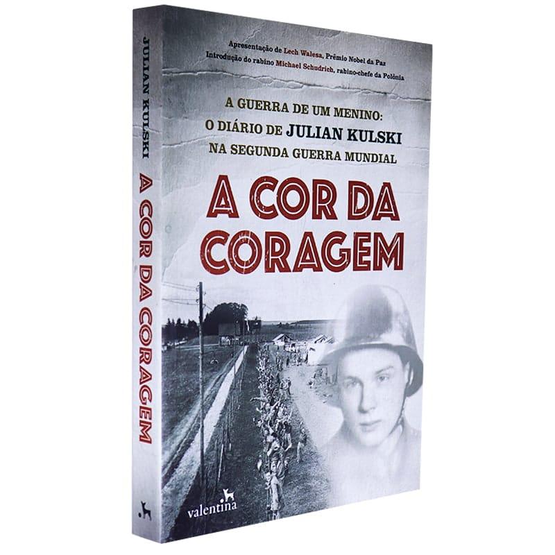 Livro A Cor da Coragem - Julian Kulski