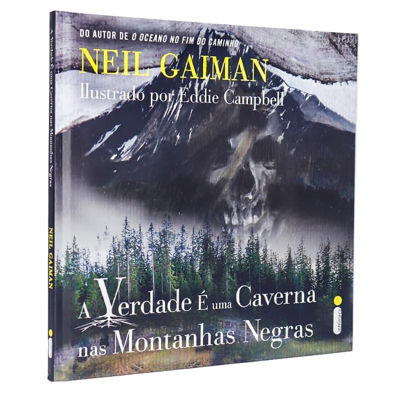 Livro A Verdade É Uma Caverna Nas Montanhas Negras - Neil Gaiman