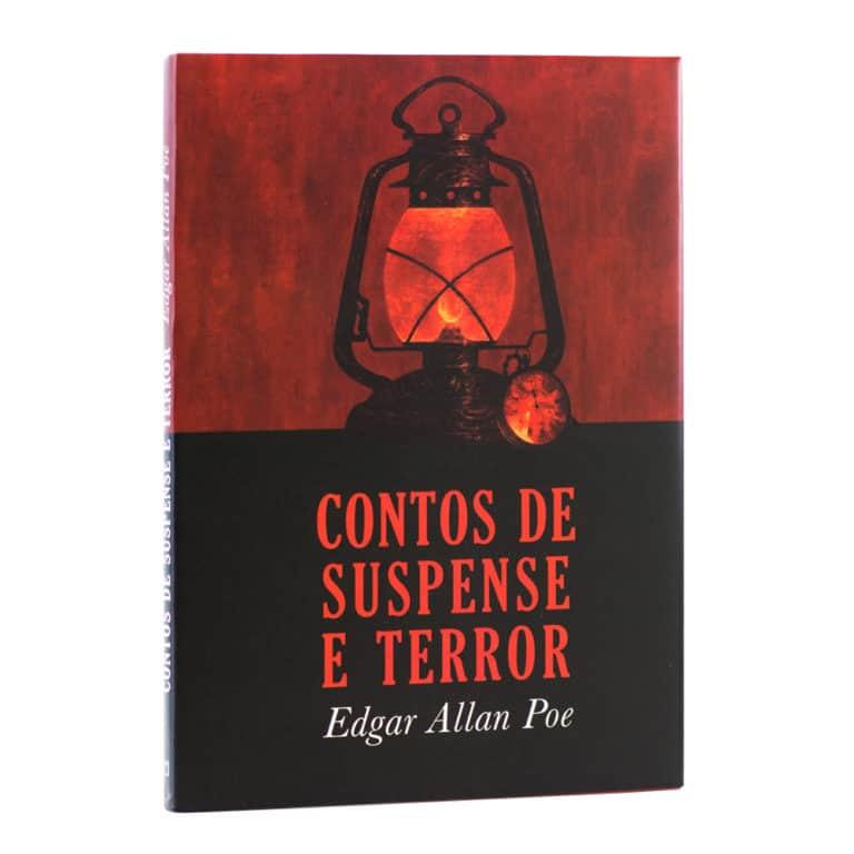 Livro Contos de Suspense e Terror - Edgar Allan Poe