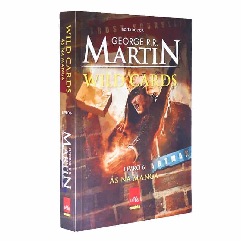 Livro Wild Cards: Ás na Manga - Volume 6 - George R.R. Martin