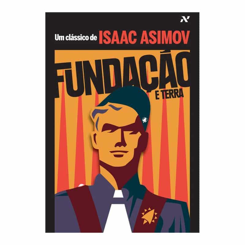 Livro Fundação e Terra - Isaac Asimov