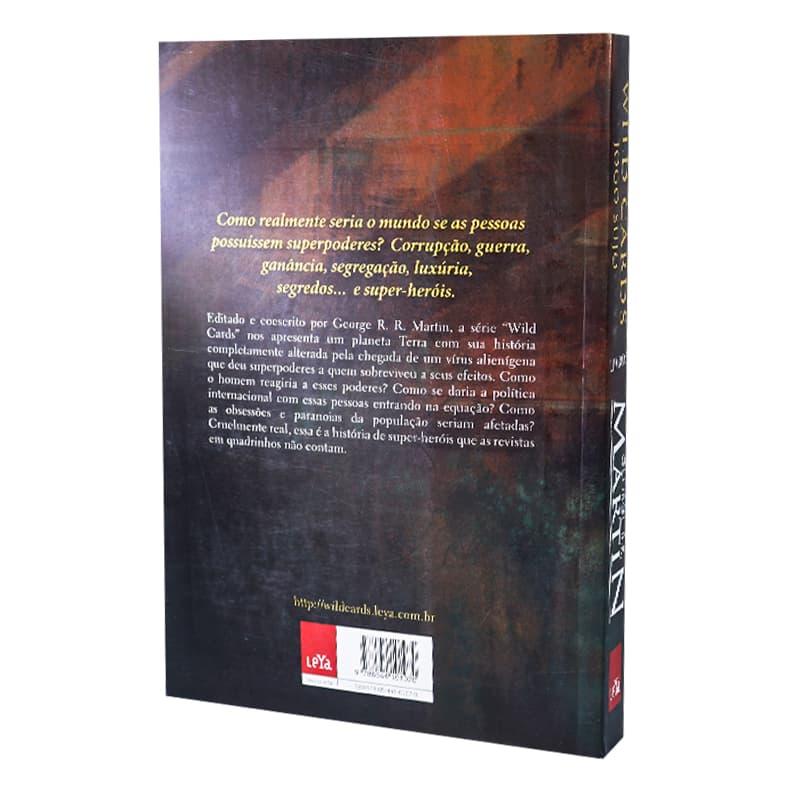 Livro Wild Cards: Jogo Sujo - Volume 5 - George R.R. Martin