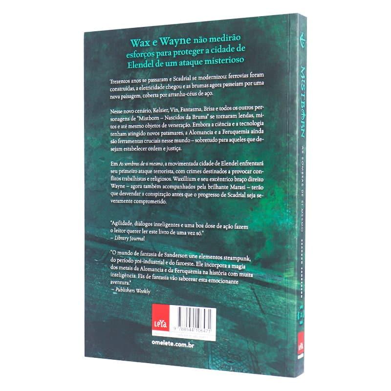 Livro Mistborn: Segunda Era: As Sombras De Si Mesmo - Volume 2 - Brandon Sanderson