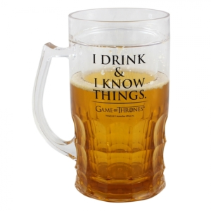 Caneca de Chopp Game of Thrones I Drink I Know Things