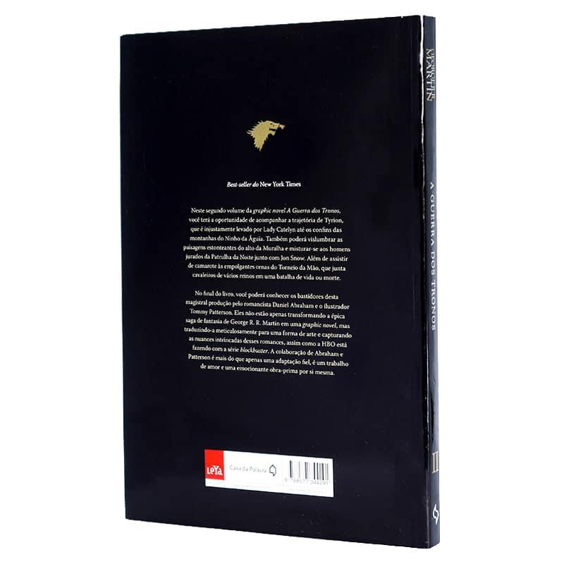 Livro A Guerra Dos Tronos - Volume 2 - (HQ) - George R.R. Martin