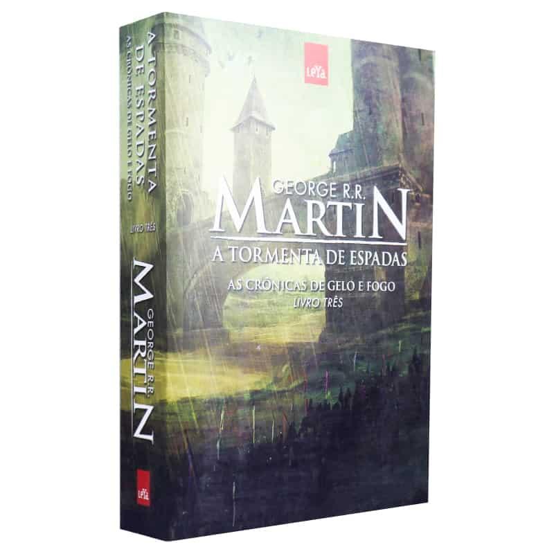 Livro A Tormenta de Espadas: As Crônicas de Gelo e Fogo - Volume 3 - George R.R. Martin