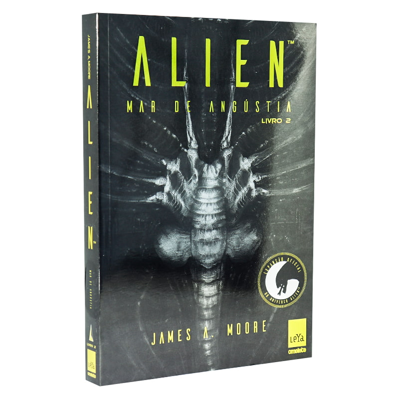 Livro Alien: Mar de Angústia - Volume 2 - James A. Moore