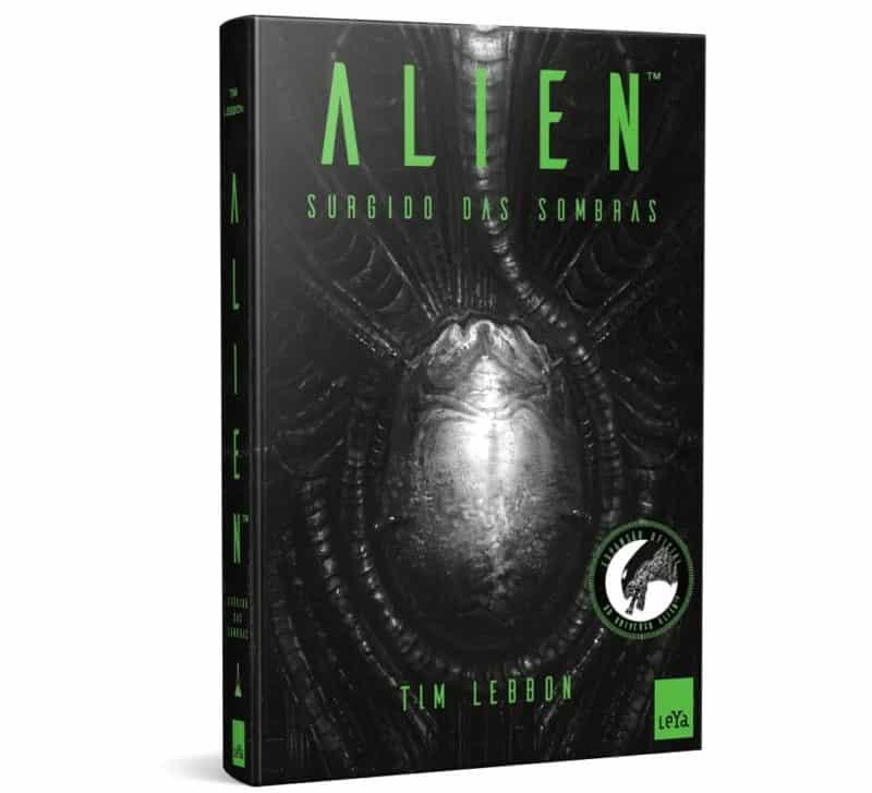 Livro Alien Surgido das Sombras - Tim Lebbon