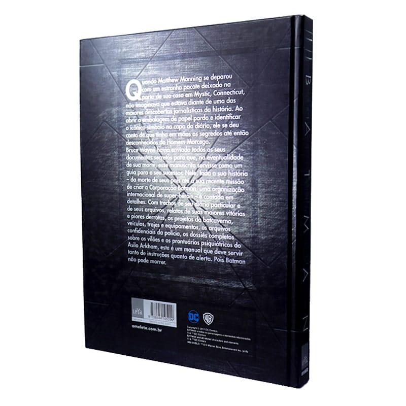 Livro Batman - Os Arquivos Secretos do Homem-Morcego
